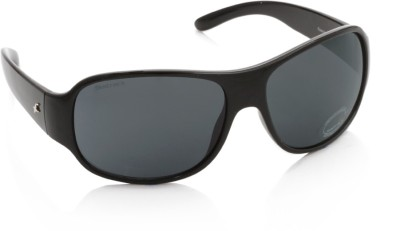 Fastrack Wrap-around Sunglasses(Grey)