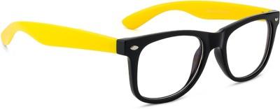 Rafa Wayfarer Sunglasses(Clear)