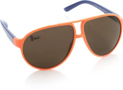 FIFA Aviator Sunglasses(Brown) at flipkart