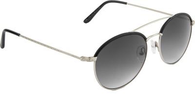 Farenheit Round Sunglasses(Grey) at flipkart