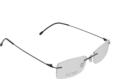 Vast Rimless Rectangle Frame(135 mm) at flipkart