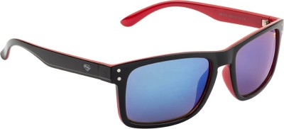 Superman Rectangular Sunglasses(Blue) at flipkart