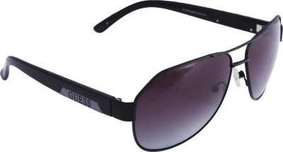 Guess Aviator Sunglasses(Grey