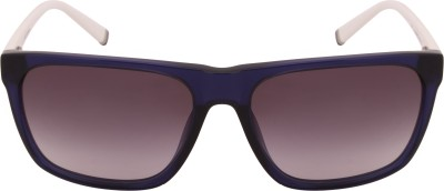 Tommy Hilfiger TH 7951 Blu/Wht C2 59 S Wayfarer Sunglasses(Brown) at flipkart