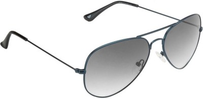 Vincent Chase Vincent Chase VC 5158 Green Grey Gradient 1111/VO Aviator Sunglasses Aviator Sunglasses(Grey)