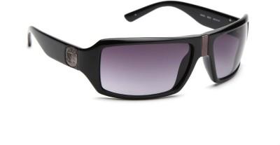 Guess Wrap-around Sunglasses(Grey) at flipkart