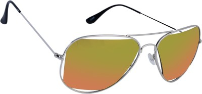 Gio Collection Aviator Sunglasses(Multicolor) at flipkart