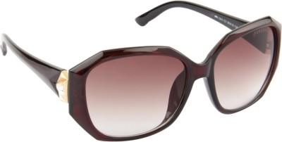 Farenheit Rectangular Sunglasses(Brown) at flipkart