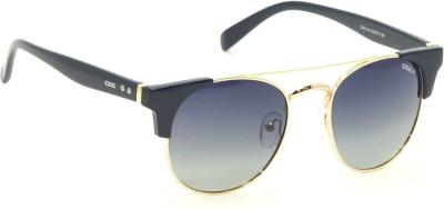IDEE Round Sunglasses(Grey, Blue)