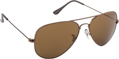 Farenheit Aviator Sunglasses(Brown) at flipkart