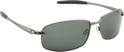Farenheit Rectangular Sunglasses(Green) at flipkart