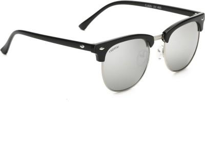 Rapstar VIRAJTRENDS09 Wayfarer Sunglasses(Silver) at flipkart