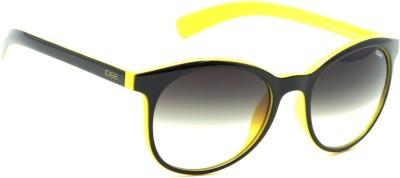 IDEE Round Sunglasses(Green, Black)