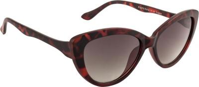 Farenheit Cat-eye Sunglasses(Green) at flipkart
