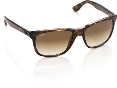 Ray-Ban Wayfarer Sunglasses(Brown) at flipkart