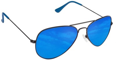 Vincent Chase Aviator Sunglasses(Blue)
