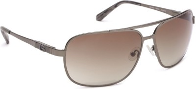 Guess Aviator Sunglasses(Brown) at flipkart
