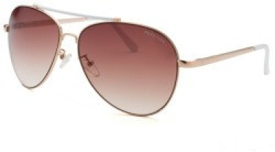 Kenneth Cole Aviator Sunglasses(Brown) at flipkart