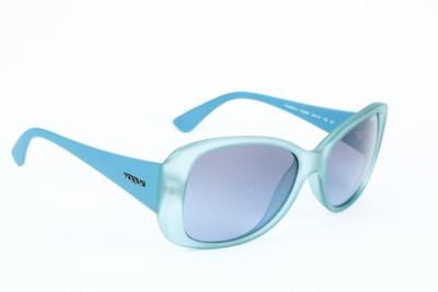 Vogue Cat-eye Sunglasses(Grey, Blue)