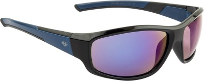 Superman Sports Sunglasses(Blue) at flipkart