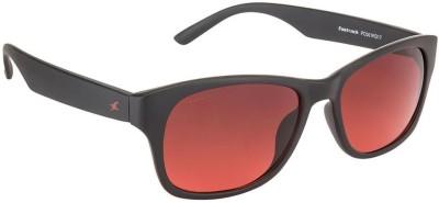 Fastrack Wayfarer Sunglasses(Red)  available at flipkart for Rs.1223