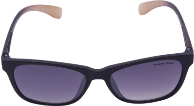 Miami Blues Wayfarer Sunglasses(Blue) at flipkart