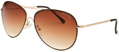 Kenneth Cole Aviator Sunglasses(Brown, Clear) at flipkart