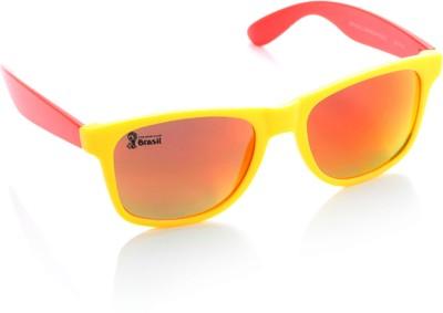 FIFA FB-S-204 Wayfarer Sunglasses(Orange, Pink) at flipkart