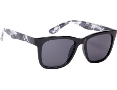 Ted Smith Wayfarer Sunglasses(Grey)