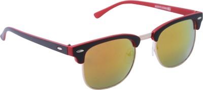 Gansta Wayfarer Sunglasses(Grey) at flipkart