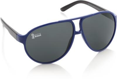 FIFA FB-S-109 Aviator Sunglasses(Grey) at flipkart