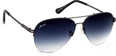 Amaze Aviator Sunglasses(Grey) at flipkart