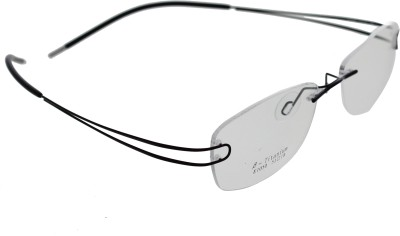 Vast Rimless Oval Frame(135 mm) at flipkart