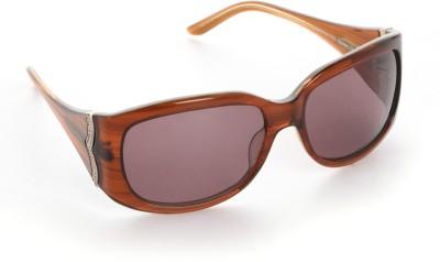 3bf9363ebd 48% OFF on Floyd Oval Sunglasses(Brown) on Flipkart