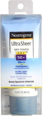 Neutrogena Ultra Sheer Dry Touch Sunblock - SPF 50 PA+++, 88 ml