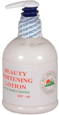 St. Dalfour Beauty Whitening With Moisturizer Lotion - SPF 60 PA+(400 ml) at flipkart