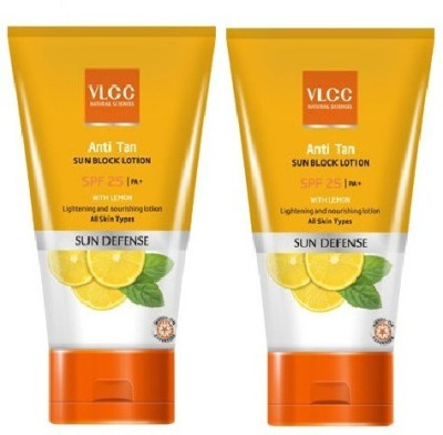 VLCC Anti Tan Sun Block Lotion - SPF 25 PA+