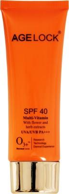 O3+ agelock Multi-vitamin - SPF 40 PA+++(75 ml)  available at flipkart for Rs.830