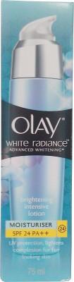 Olay White Radiance Advanced Whitening Moisturiser- SPF 24 PA++, 75ml