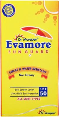 92fe48bc9963e 61% OFF on Dr. Morepen Evamore Sun Guard - SPF 50 PA++(100