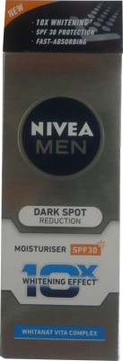 Nivea SPF 30 Pa++ Dark Spot Reduction Moisturiser For Men (40ml)