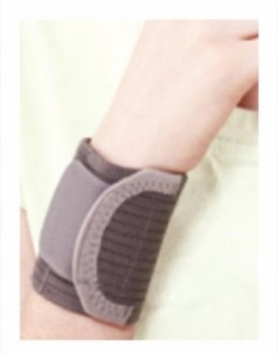 Tynor Wrist Brace Double lock Wrist Support (M, Grey)  available at flipkart for Rs.91
