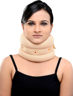 Body Guard GG101 Neck Support (L, Beige)  available at flipkart for Rs.249