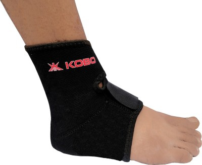Kobo Ankle Support Ankle Support (Free Size, Black)  available at flipkart for Rs.250
