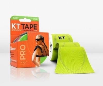 KT TAPE Pro Pre-Cut 20 Strip Synthetic Winner Green Foot Support (Free Size, Green)