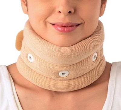 Vissco Cervical Collar with Chin Regular Neck Support