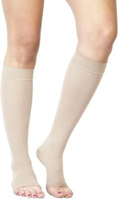 39b0d859cc Flamingo Healthcare Medical Compression Stocking Below Knee Calf & Thigh  Support (XL Beige)