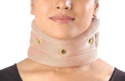 Vissco Cervical Collar without Chin Regular Neck Support (M, Beige)  available at flipkart for Rs.200