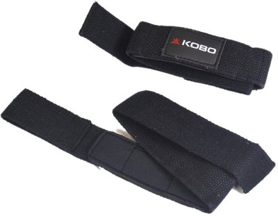 Kobo Pro Lifting Straps Wrist Support (Free Size, Assorted)