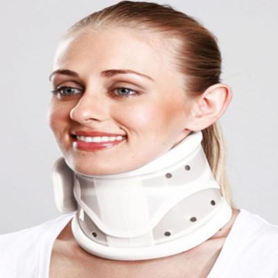 Tynor Cervical Collar Hard Adjustable Neck Support (S, Grey)